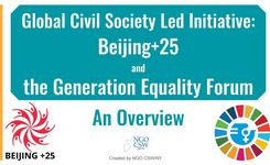 Beijing+25 & Generation Equality Civil Society Deck