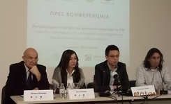 The civil organizations ESE, CDRIM, LIL and KHAM request the Government of RM and the Ministry of health to accept the proposed measures for increased scope of immunization of children in Roma communities