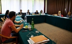 The first national training held for organisations in Bosnia Herzegovina