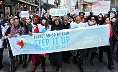 2016 International Women's Day March 8, at the UN, Around the World