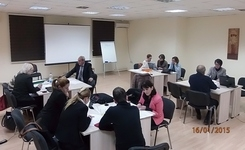 Last working meeting for development of questionnaires for monitoring of court cases