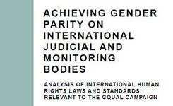 Achieving Gender Parity on International Judicial & Monitoring Bodies