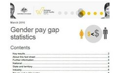 Australia - Gender Pay Gap Statistics
