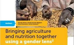 Bringing Agriculture & Nutrition Together Using a Gender Lens