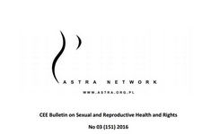 CEE Bulletin on Sexual and Reproductive Health and Rights No 03 (151) 2016