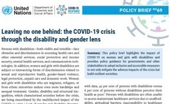 COVID-19 through the Disability & Gender Lens