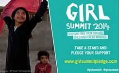 Calls to end FGM & child marriage in a generation at Girl Summit 2014