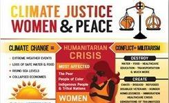 Climate Justice, Women & Peace