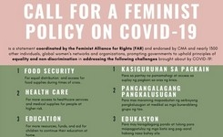 Collective Call for a Feminist Policy on COVID-19