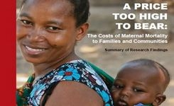 Costs of Maternal Mortality to Families & Communities