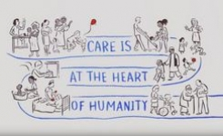 Decent Work in the Care Economy - Gender - Animated ILO Video