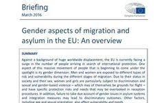 EU - Gender Aspects of Migration & Asylum in the EU