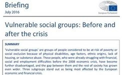 EU - Vulnerable Social Groups in the European Union - Before & After the Economic Crisis