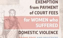 Exemption from payment of court fees for women who suffered  domestic violence - Knowledge and practices