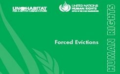 Forced Evictions - Women & Girls
