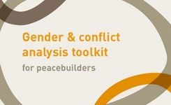 Gender & Conflict Analysis Toolkit for Peacebuilders