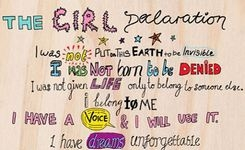 Girl Declaration & Guiding Principles - Call to Action for Girls with the Post-2015 Agenda