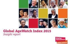 Global Age Watch Index 2015 - Report