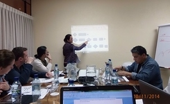 ESE team on a study visit to CEGSS, Guatemala