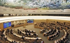 Human Rights Council holds interactive dialogue on extreme poverty and on counter-terrorism