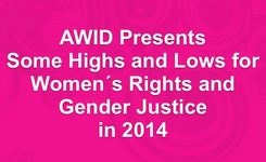 Highs And Lows For Women's Rights And Gender Justice In 2014 – AWID Video