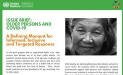 Impact of COVID-19 on Older Persons - UN Response - Older Women