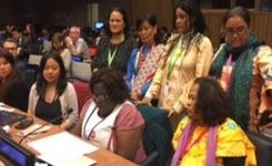 Indigenous Women Delegation Oral Statement at UN Permanent Forum on Indigenous Issues 2017