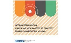 Kosovo - Information Guide on Women & Men's Access to Property & Housing Rights