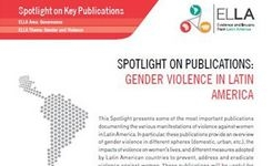 Latin America Gender Violence - Publication Resources