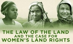 Law of the Land: Women's Rights to Land - Infographic