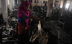 Made in Bangladesh - Video - Women Garment Workers, Low Pay, Risky Work Conditions, Fires, Western Retailers - Profits - Supply Lines, Investigation