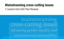 Advancing gender equality & Environmental sustainability – Mainstreaming cross-cutting issues