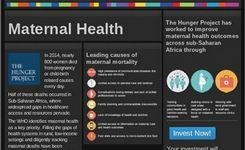 Maternal & Infant Health - Sub-Sahara Africa - Online Interactive Dashboard