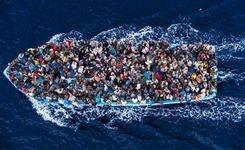 Migrants Flow on Risky, Often Fatal Voyages Across the Mediterranean to Europe - WOMEN & CHILDREN