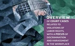 Overview of court cases related to violations of labor rights, with a focus on cases of discrimination and harassment in the workplace