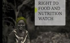 People's Nutrition Is Not A Business - Food & Nutrition Watch 2015 - Gender