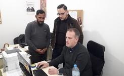Посета на партнерската организација ИРИЗ  за обезбедување техничка поддршка