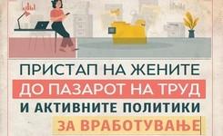 Пристап на жените до пазарот на труд и активните политики за вработување