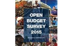 The Open Budget Survey 2015: Findings