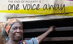 The end of poverty is one voice away – Women uniting & Networking to end the cycle of poverty – Women Thrive Worldwide