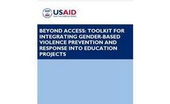 Toolkit for Integrating Gender-Based Violence Prevention & Response into Education Projects