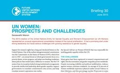 UN Women: Prospects & Challenges