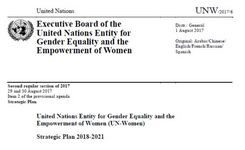 UN Women Strategic Plan 2018-2021