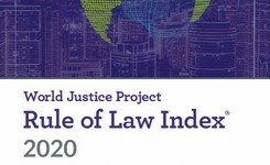 Rule of Law Index for 2020