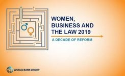 Women, Business & The Law 2019 - Measuring Gender Equality in The Law