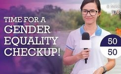 Women Make the News - Gender Equality Check-Up!