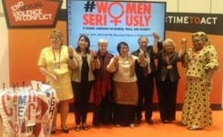 Women Seriously! Global Campaign on Women, Peace, & Security