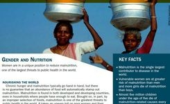 Women & Nutrition - Hunger & Malnutrition - UN Decade of Action on Nutrition