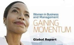 Women in Business & Management: Gaining Momentum