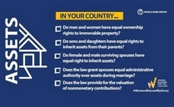 Women's Property Rights Are the Key to Economic Development